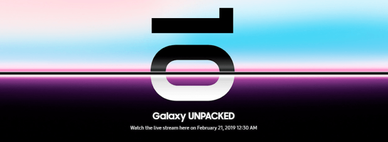 Samsung Galaxy S10 release date revealed