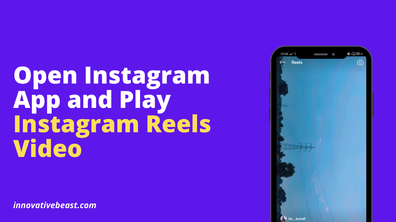 Download Instagram Reels Video on Android