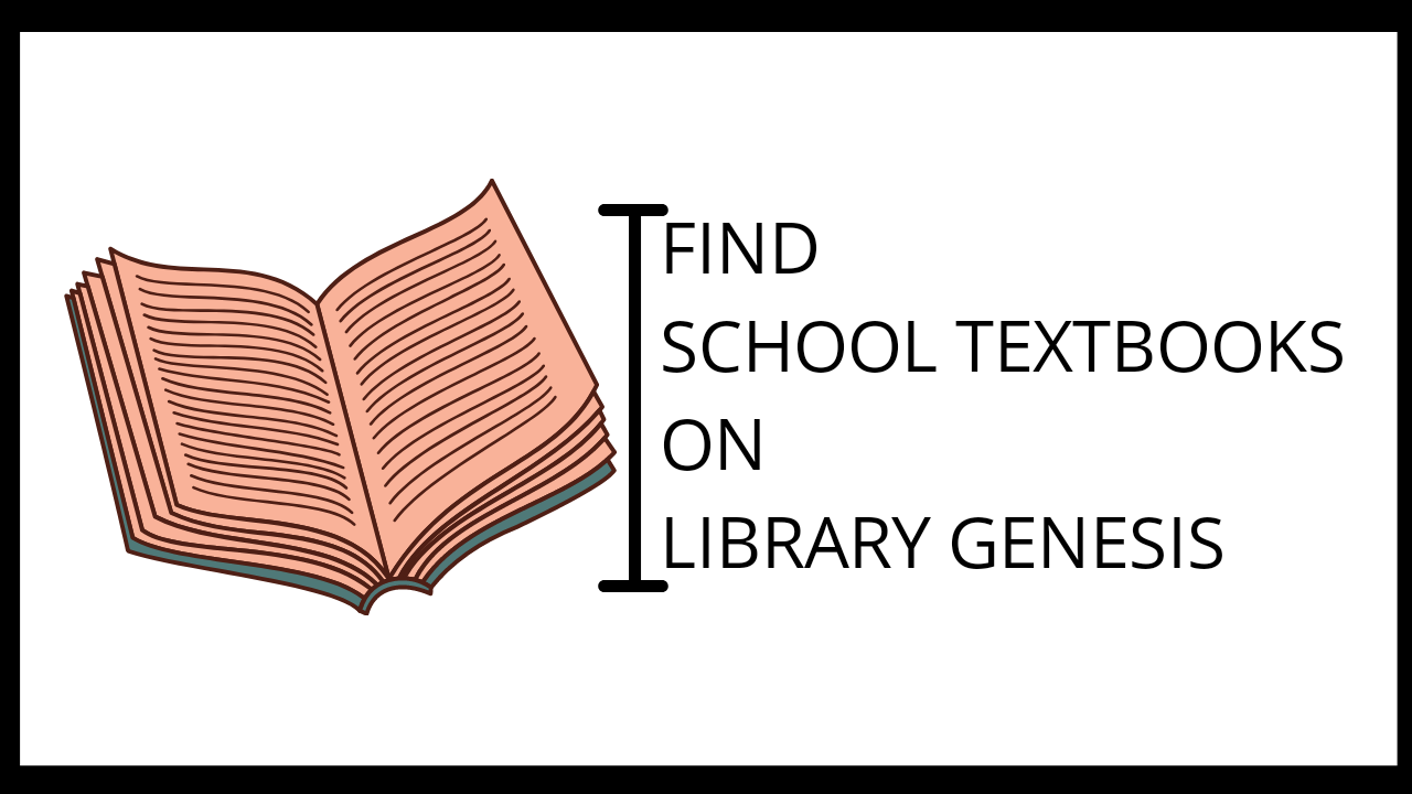 How to find School Textbooks on Library Genesis/Libgen